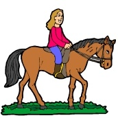 Window Color Malvorlagen Pferde